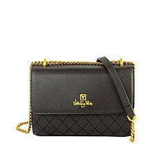 Valentino Rudy Italy Ladies 2 Ways Quilted Flap-over Chain Sling Bag