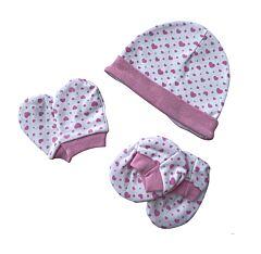 Mittens,  Botties And Bonnet Set