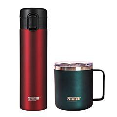 12oz Nature Vacuum Mug & 300ml Vacuum Flask