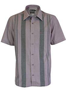 Short Sleeve Regular Fit Smart Casual Shirt