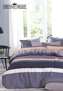 Horano Stripes Fitted Sheet Set 600 Thread Count