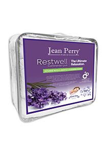 RestWell Continental White Quilt