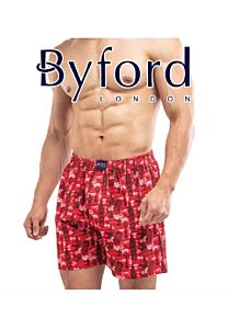 2 In 1 Combed Cotton Printed Boxer