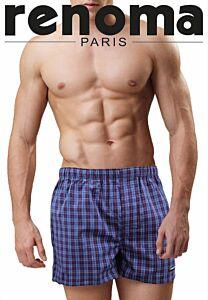 2 In 1 Woven Cotton Boxer Short