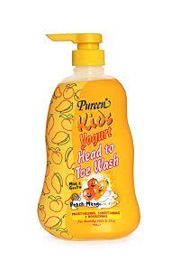 Kids Yogurt Head To Toe Wash (Peach Mango) 750ml
