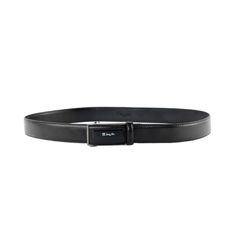 Valentino Rudy Italy Men's 36mm Leather Auto Gear Buckle Belt