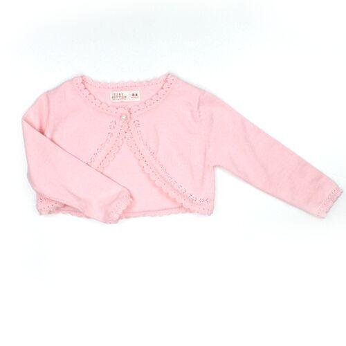 Pink Knit Cardigan For Toddler